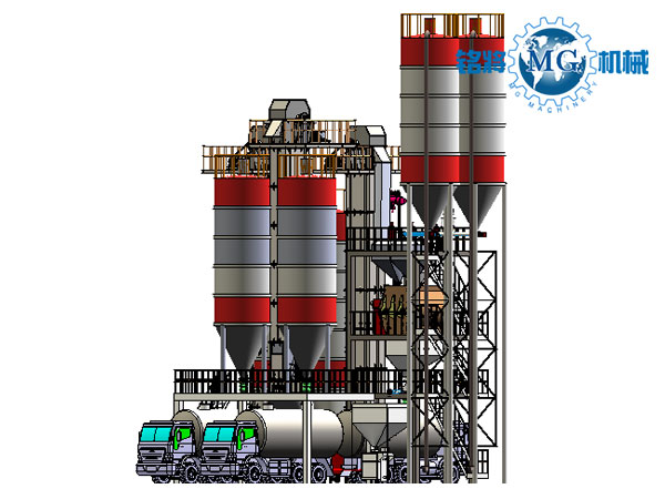 年产30万吨干混砂浆设备