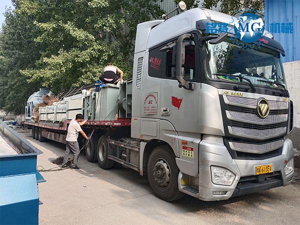 浙江台州gan粉砂浆生chanxian发货场景图